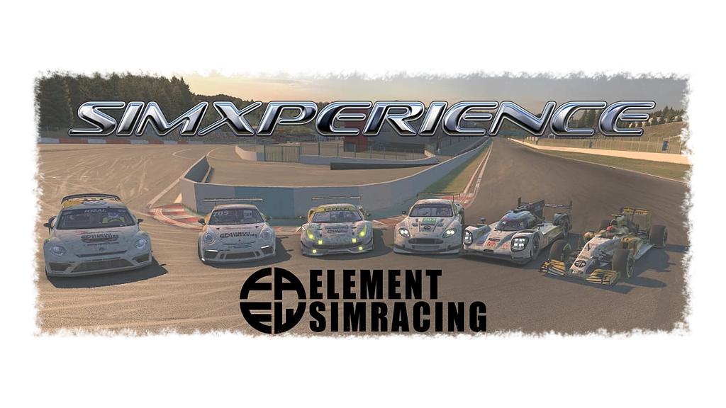 RacingCommunity.de wird zu SimXperience Element SimRacing!